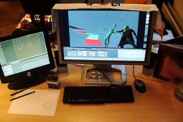 Lee's desk