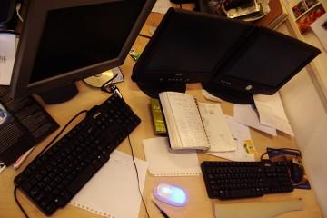 Toni's desk