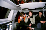 Taking a tongue-in-cheek limo ride through Amsterdam to the after party
